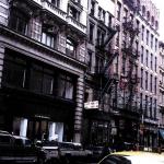 Yellow Cab, Manhattan, Acrylic On Canvas, 2000