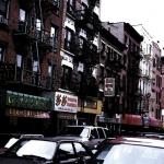 Traffic, Manhattan, Acrylic On Canvas, 2000