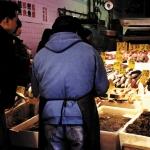 Men In Market, Manhattan, 2000