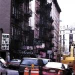 Manhattan Fire Escapes, Acrylic On Canvas, 2000