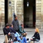 Steeet Guys, Barcelona, Spain
