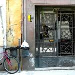 Grill Door and Bike, Valencia, 2010