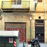 Garbage and Motorbike, Valencia, 2009