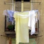 Preparing For Rain, Barcelona, 2006