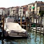 Tarp On Boat, Venice, 2003