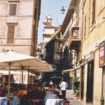 Shady Lunch, Rome, 2002