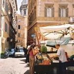 Market At Dawn, Rome, 2002