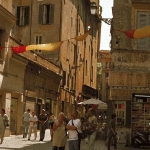 Colourful Banners, Rome, 2002