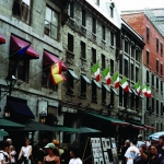 Street Art, Old Montreal, 2001